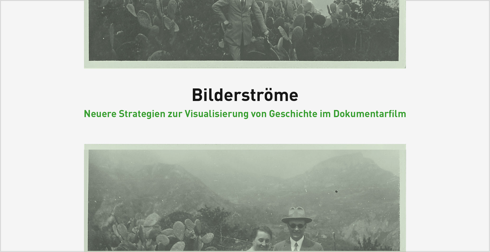 Dfi-Symposium BILDERSTRÖME